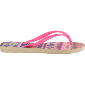 havaianas Slim Fashion - Sandales Enfant - beige/rose